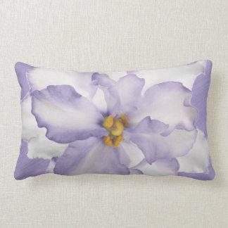 Almofada Lombar Orquídea bonita da lavanda