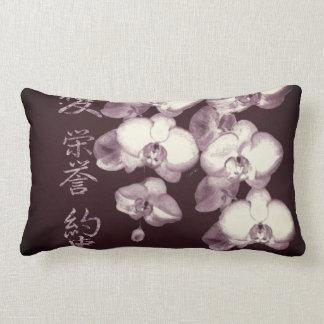 Almofada Lombar Orquídeas japonesas