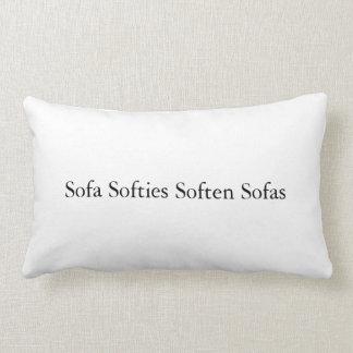 Almofada Lombar Os Softies do sofá amaciam o travesseiro dos sofás