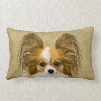 Almofada Lombar Papillon (tri cor do cão)