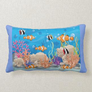 Almofada Lombar Peixes tropicais