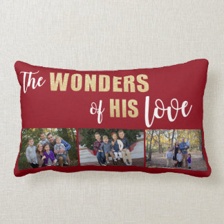 Almofada Lombar Personalizado, travesseiro decorativo do feriado