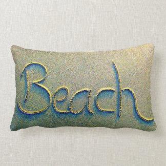 Almofada Lombar Praia da escrita da areia