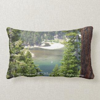Almofada Lombar Presente esmeralda do *Great do travesseiro da