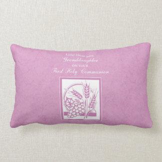 Almofada Lombar Primeiro comunhão da neta, cor-de-rosa