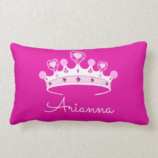 Almofada Lombar Princesa Coroa Costume Personalized do rosa quente