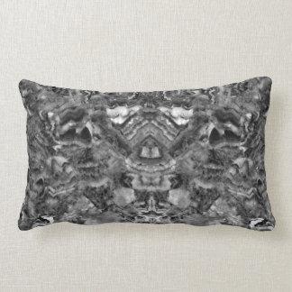 Almofada Lombar Quartzo preto e branco