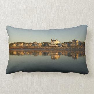 Almofada Lombar Reflexão do amanhecer de Bayview da praia de