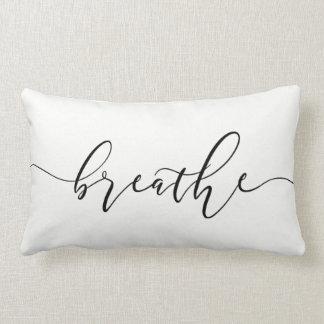 Almofada Lombar Respire a ioga Minimalistic da meditação
