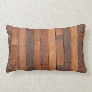 Almofada Lombar Revestimento de madeira gasto velho