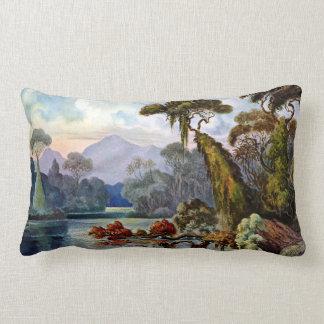 Almofada Lombar Rio da selva de Ernst Haeckel Ceilão