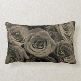 Almofada Lombar Rosas cinzentos mornos