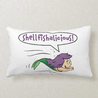 "Almofada Lombar ""Shellfishalicious! ""Travesseiro decorativo lombar"