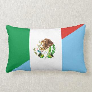 Almofada Lombar símbolo do país da bandeira de México guatemala