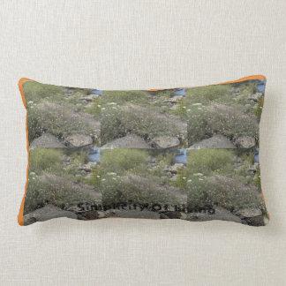 Almofada Lombar Simplicidade do travesseiro de vida por Cheyene M