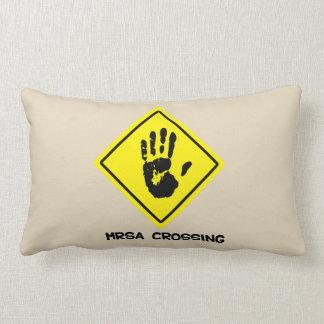 Almofada Lombar Sinal do cruzamento de MRSA