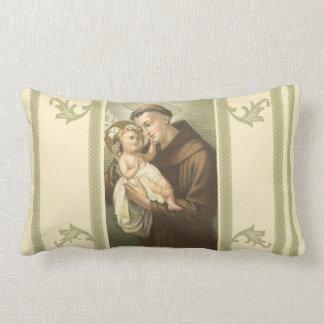 Almofada Lombar St Anthony de Pádua & de bebê Jesus