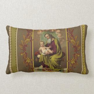 Almofada Lombar St Joseph com o bebê Jesus & o desenhista dos