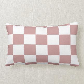 Almofada Lombar Tabuleiro de damas cor-de-rosa