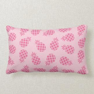 Almofada Lombar Teste padrão bonito feminino do abacaxi do rosa