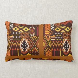 Almofada Lombar Tons da terra e abstrato africanos art.