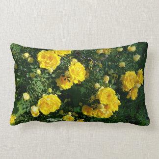 Almofada Lombar Travesseiro amarelo das flores