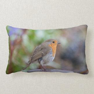 Almofada Lombar Travesseiro bonito do pisco de peito vermelho
