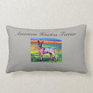 Almofada Lombar Travesseiro calvo americano do CÃO AHT de Terrier