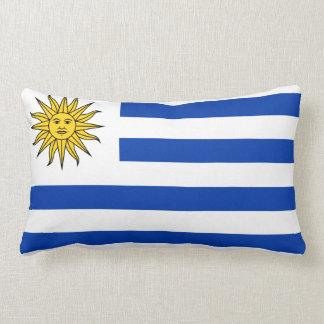 Almofada Lombar Travesseiro com a bandeira de Uruguai