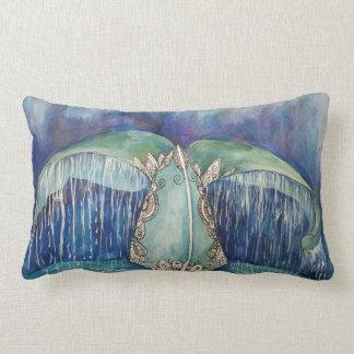 Almofada Lombar Travesseiro da cauda da baleia