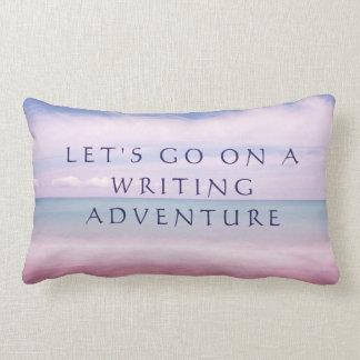 Almofada Lombar Travesseiro da escrita, presente legal do escritor