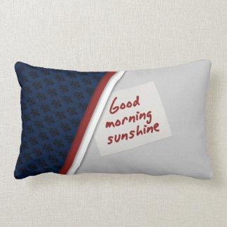 Almofada Lombar Travesseiro da luz do sol do bom dia