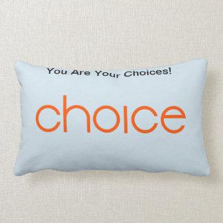 Almofada Lombar Travesseiro das escolhas