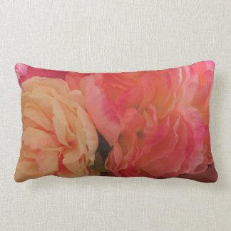 Almofada Lombar Travesseiro das peônias