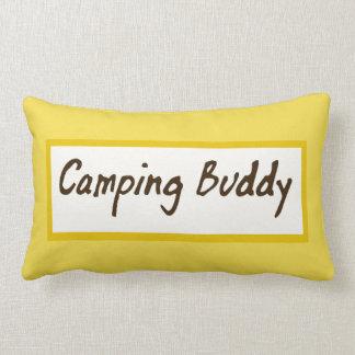 Almofada Lombar Travesseiro de acampamento lombar amarelo do amigo