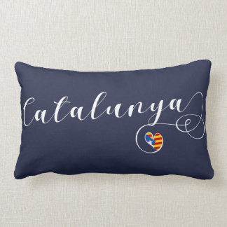 Almofada Lombar Travesseiro de Catalunya do coração, Catalan
