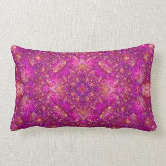 Almofada Lombar Travesseiro de Fractually Fuschia