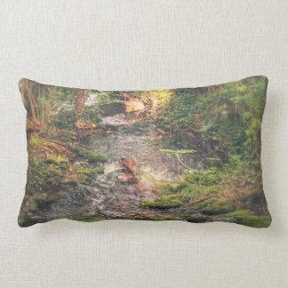 Almofada Lombar Travesseiro de relaxamento do córrego