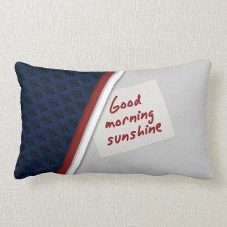 Almofada Lombar Travesseiro de vista agradável do bom dia