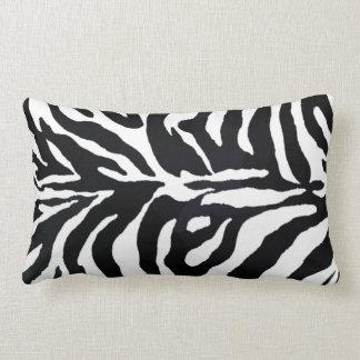 Almofada Lombar Travesseiro decorativo animal preto e branco do