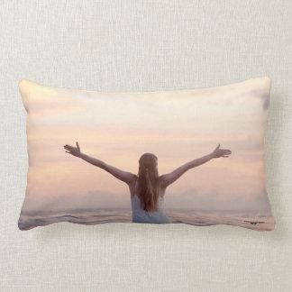 Almofada Lombar Travesseiro decorativo bonito para seu cama, sofá