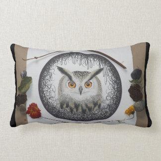 Almofada Lombar Travesseiro decorativo da mandala da coruja