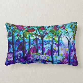 Almofada Lombar Travesseiro decorativo das madeiras do Bluebell