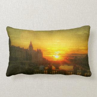 Almofada Lombar Travesseiro decorativo de France da ponte de Paris