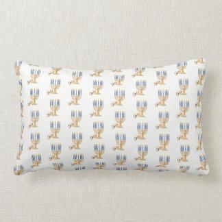 Almofada Lombar Travesseiro decorativo de Hanukkah