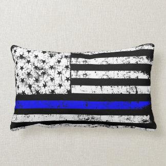 Almofada Lombar Travesseiro decorativo decorativo fino de Blue