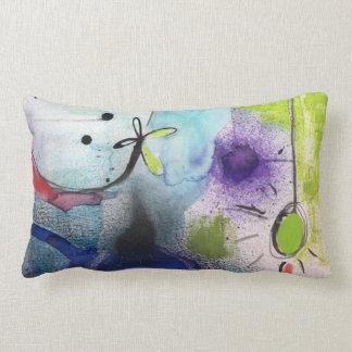 Almofada Lombar Travesseiro decorativo - design abstrato -