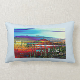 Almofada Lombar Travesseiro decorativo do abstrato da angra da