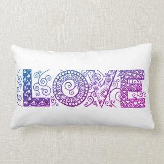 Almofada Lombar Travesseiro decorativo do amor
