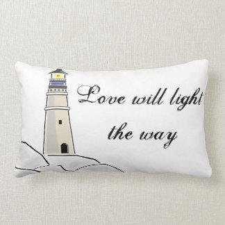 Almofada Lombar Travesseiro decorativo do amor do farol